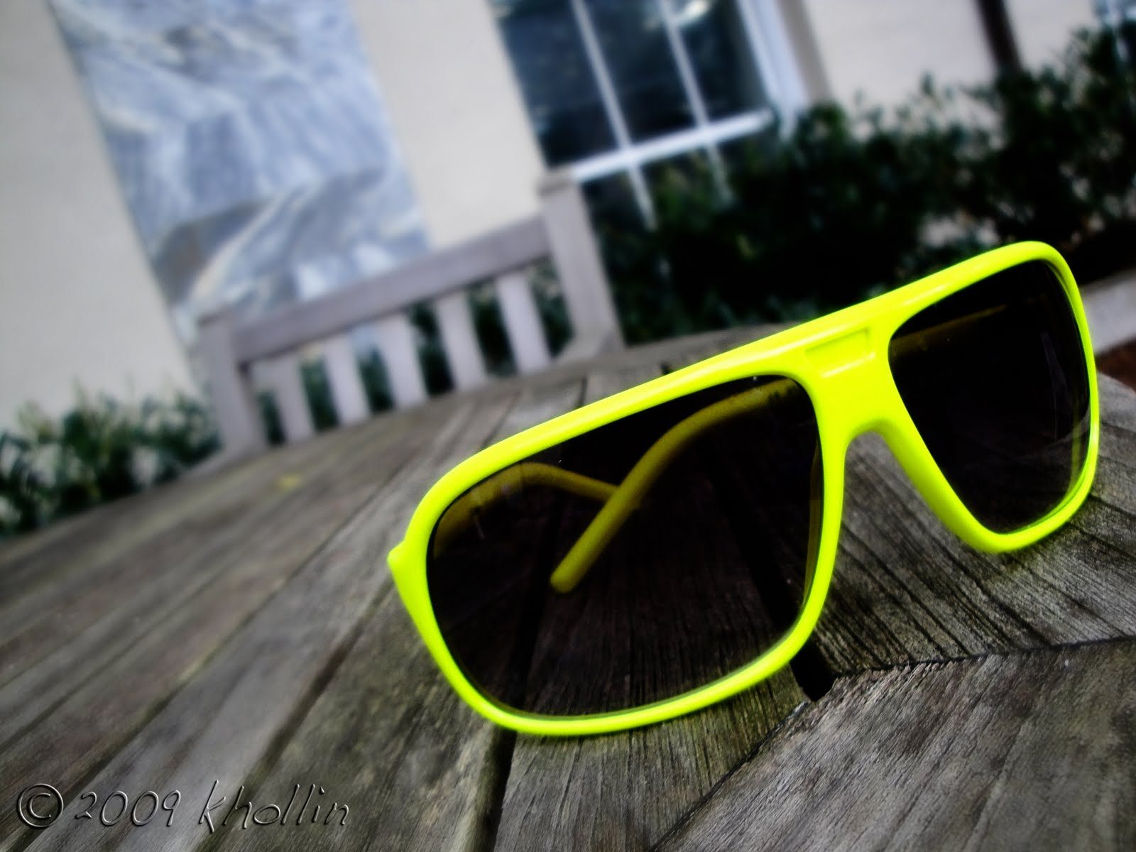 Yellow Sunglasses Urban Outfitters