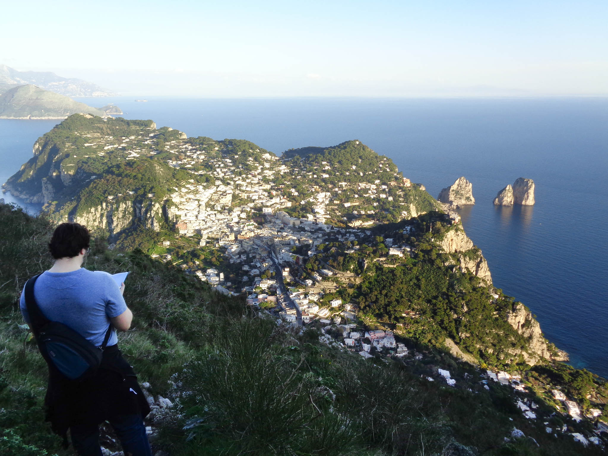 hiking capri italy